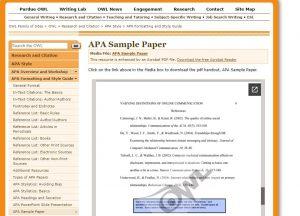 APA ReferenceList 2016